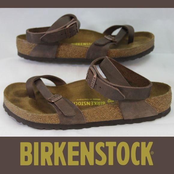 9586adbfafa7 Birkenstock Shoes - Birkenstock Yara Oiled Leather Habana Sandals